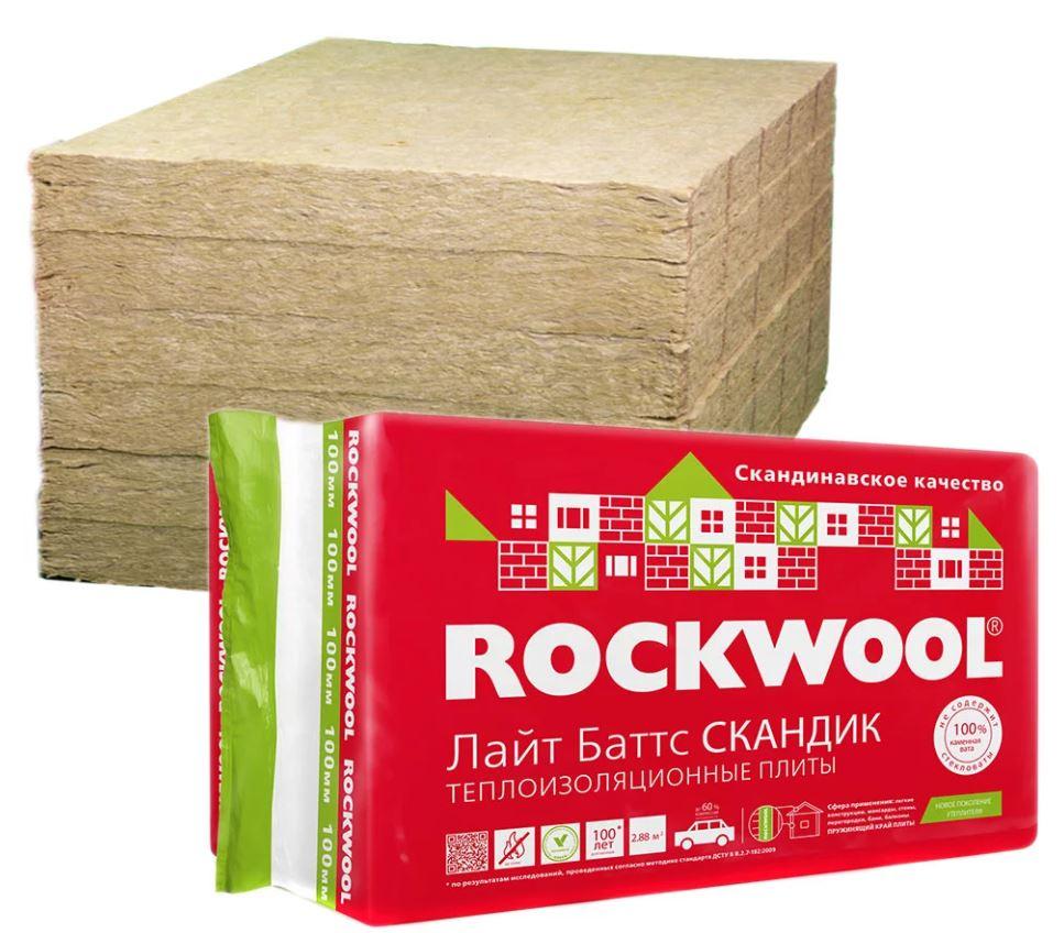 изоляция rockwool лайт баттс